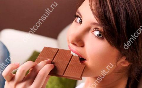 Темный шоколад полезен для ваших зубов