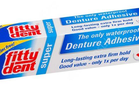 Крем «Фиттидент» для зубных протезов