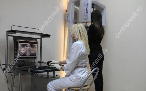 Панорамный снимок – ортопантомограмма