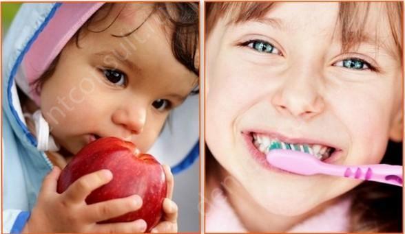 профилактика черного налета на зубах у детей