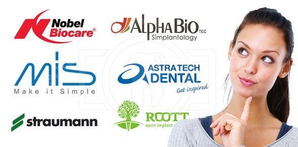 бренды зубных имплантов
