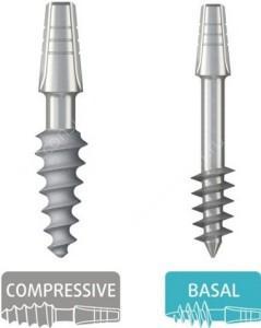 Базальный и компрессионный имплант