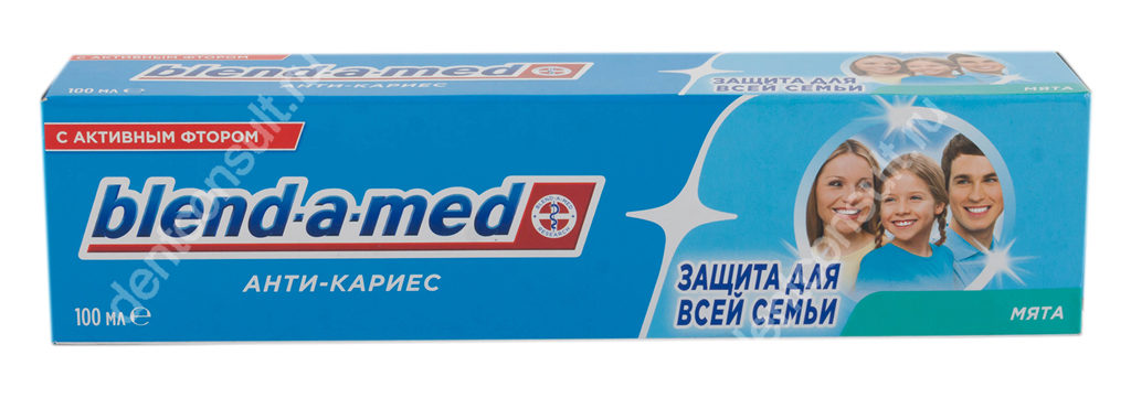 Blend-a-med с активным фтором