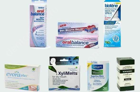 Фото: лекарства от запаха изо рта