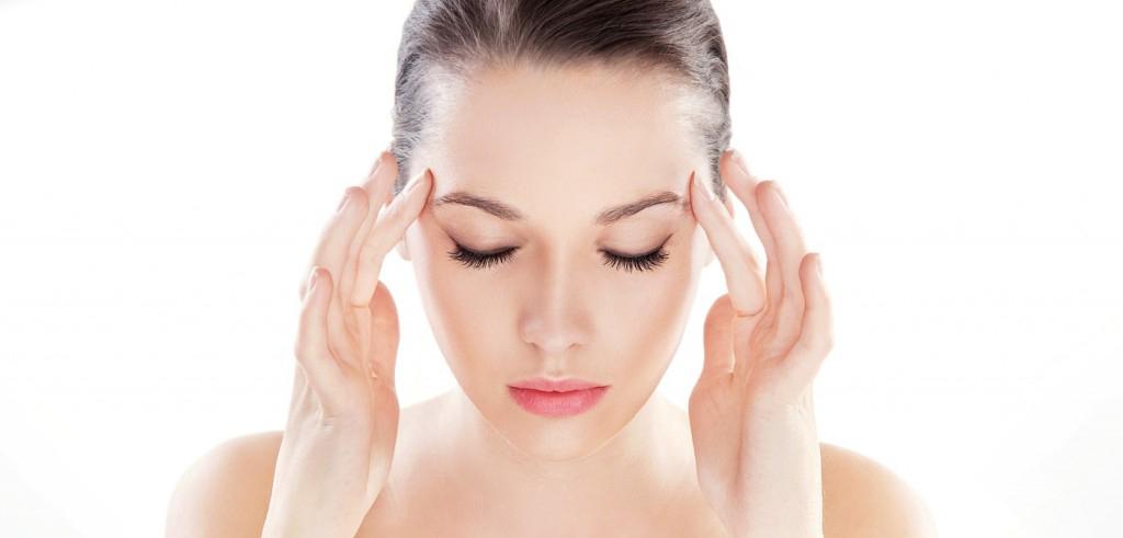 Легкий массаж поможет избавиться от симптомов