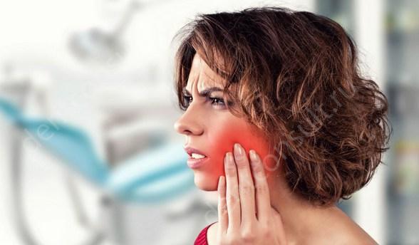 Фото: боль после удаления зуба