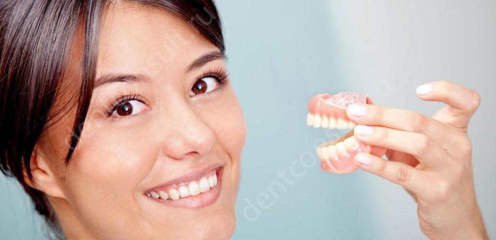 Протезирование зубов недорого