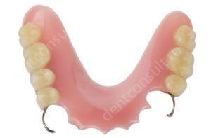 Пластинчатые зубные протезы