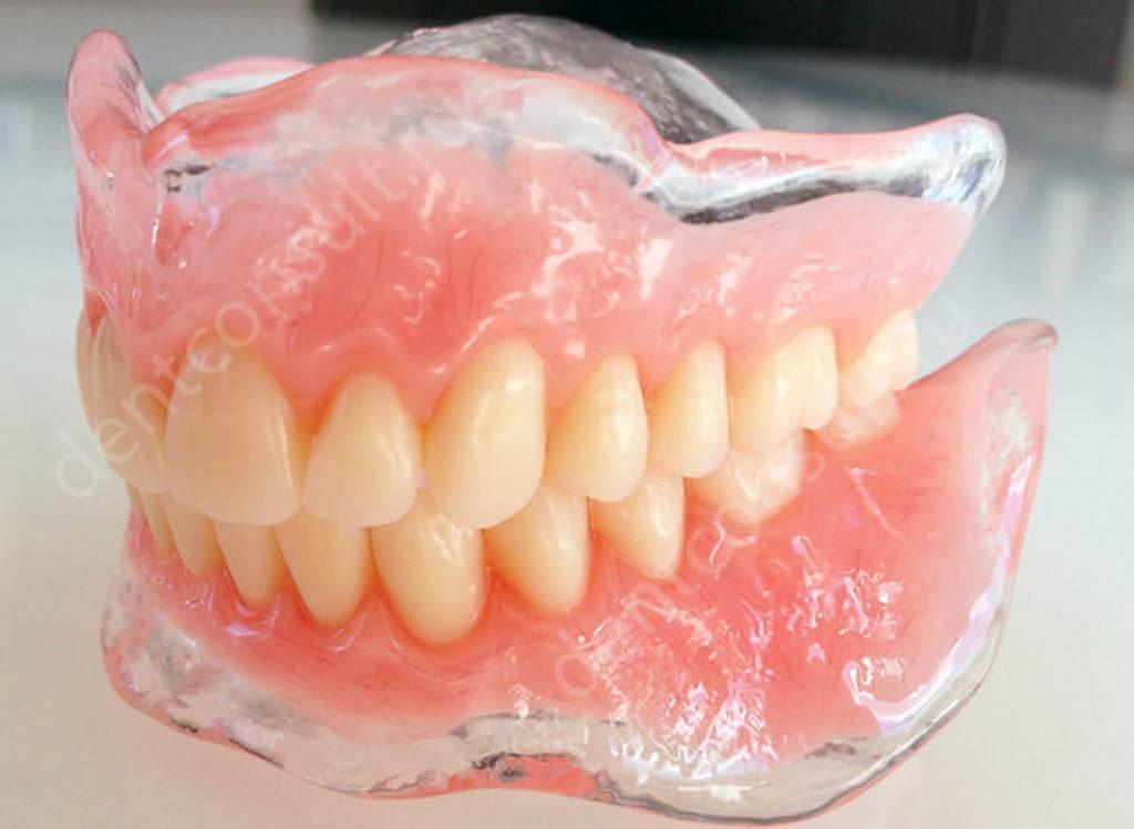 Зубные протезы Акри Фри