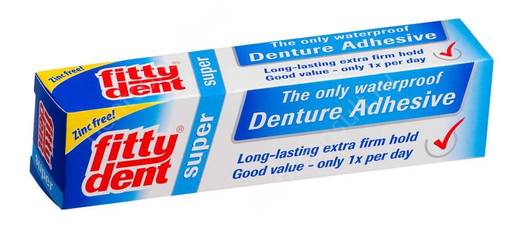 Фиттидент для зубных протезов инструкция