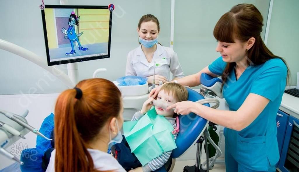 Применение седации при лечении зубов у ребенка