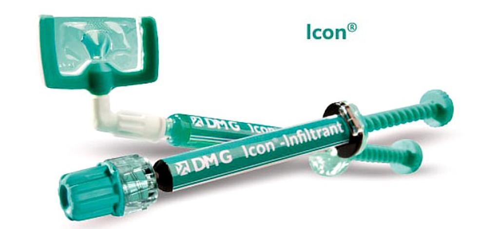 Гель для обработки зубов Icon хорошо справляется с кариесом