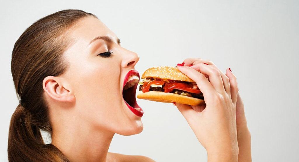 Приступ может случится по время еды