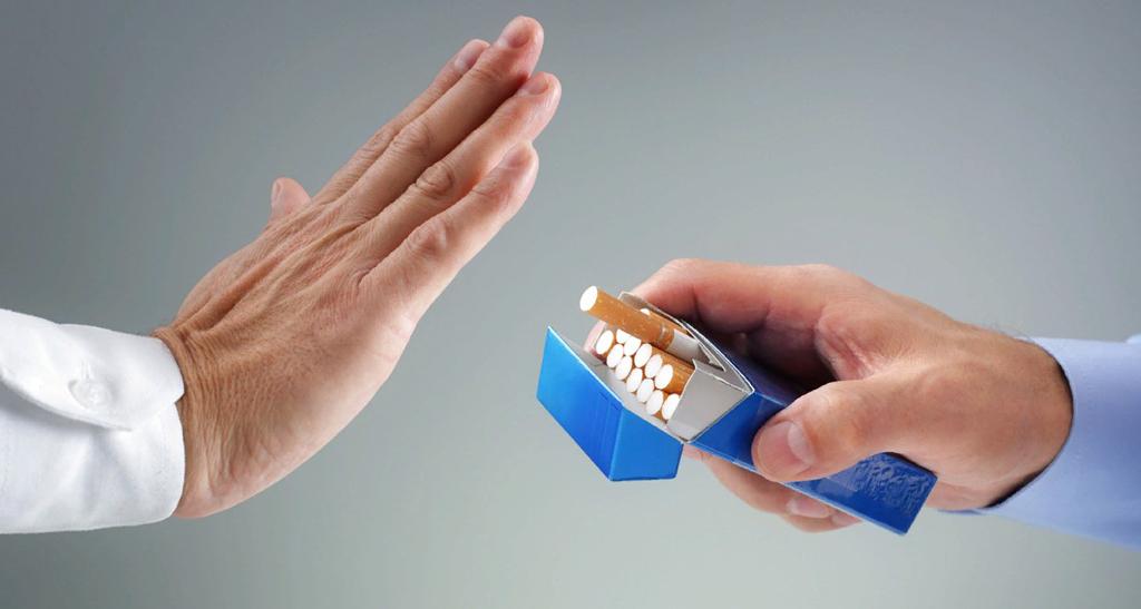 воздержаться от спиртных напитков и сигарет