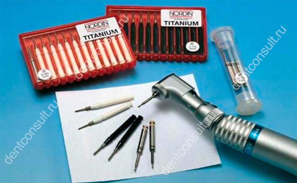 Восстановление зубов с помощью парапульпарных штифтов