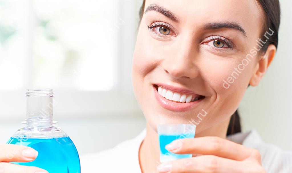 Рекомендации, как пользоваться ополаскивателем для зубов и полости рта