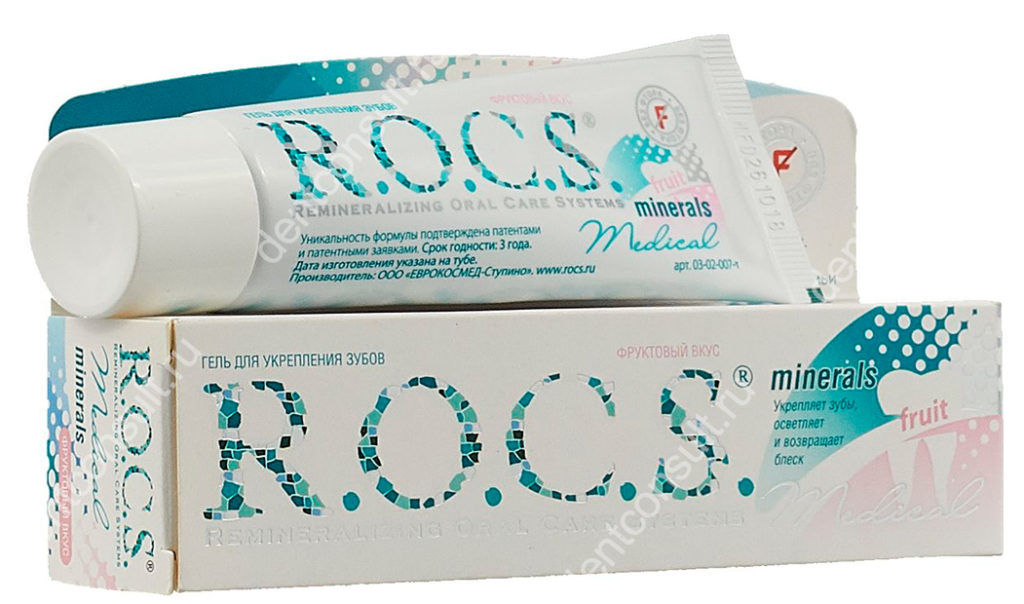 Гель ROCS Medical Minerals