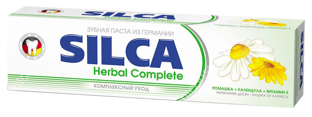 Silca, паста Herbal Complete