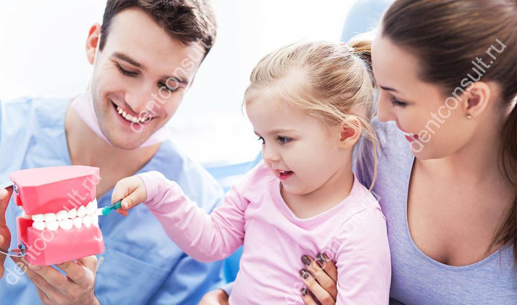 Укрепление зубов у детей и взрослых