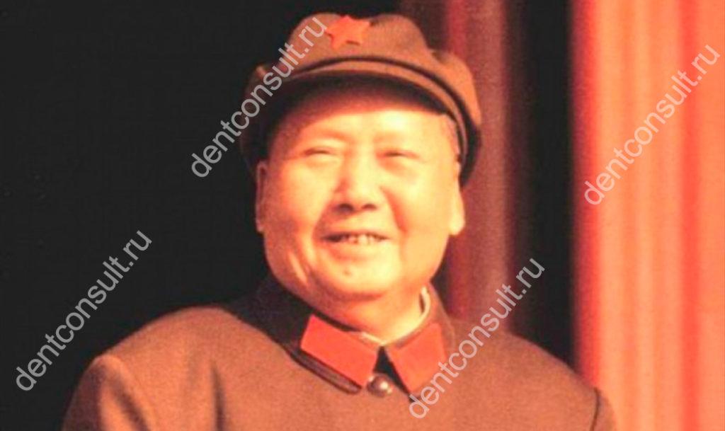 китайский император Мао Цзе Дун