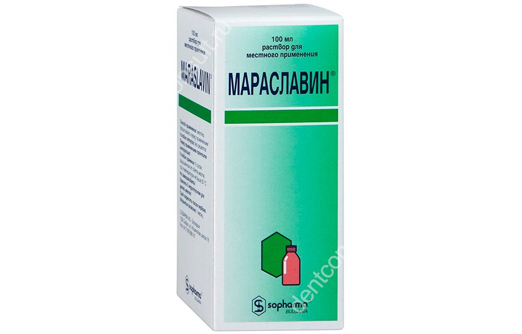 «Мараславин» – обзор средства от боли и воспаления десен