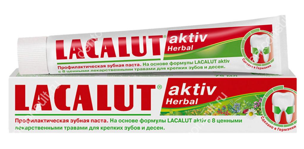 LACALUT Aktiv Herbal
