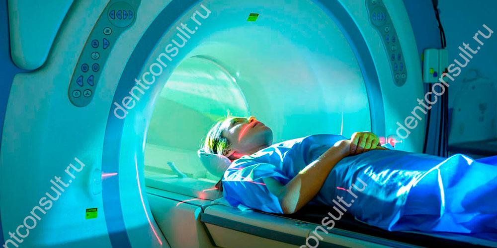 Можно делать МРТ с металлическими коронками