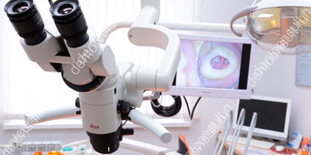 В хороших современных клиниках эндодонтическое лечение проводится с применением профессиональной увеличительной оптики
